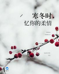 寒冬时,忆你的柔情