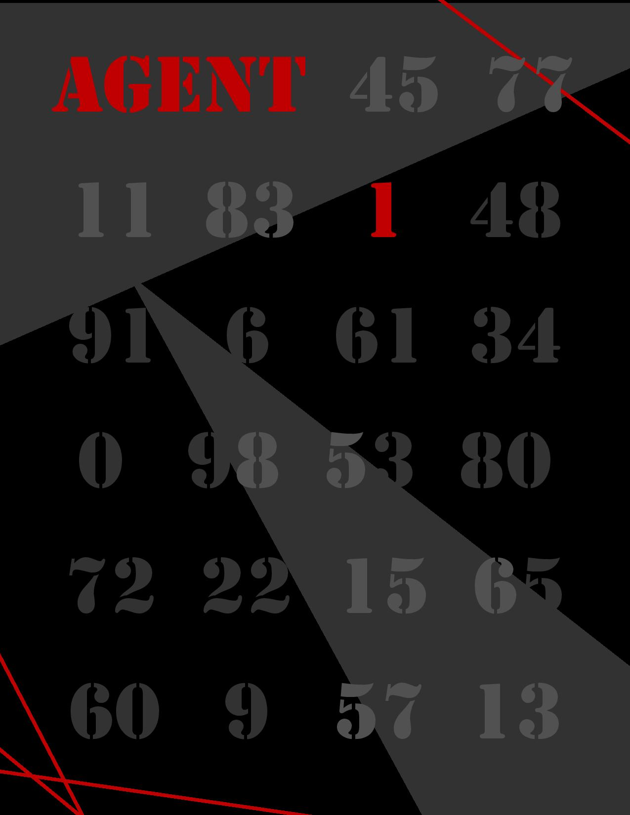 Agent 1 (Book 3)